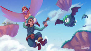 Incoming Gawks by ZackRI