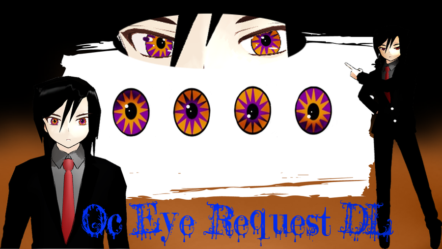 MMD: Oc Eyes Request DL by xxDraconikaxx