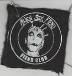 Alien Sex Fiend Club patch