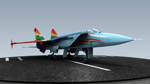 Rainbow Dash Mig-31