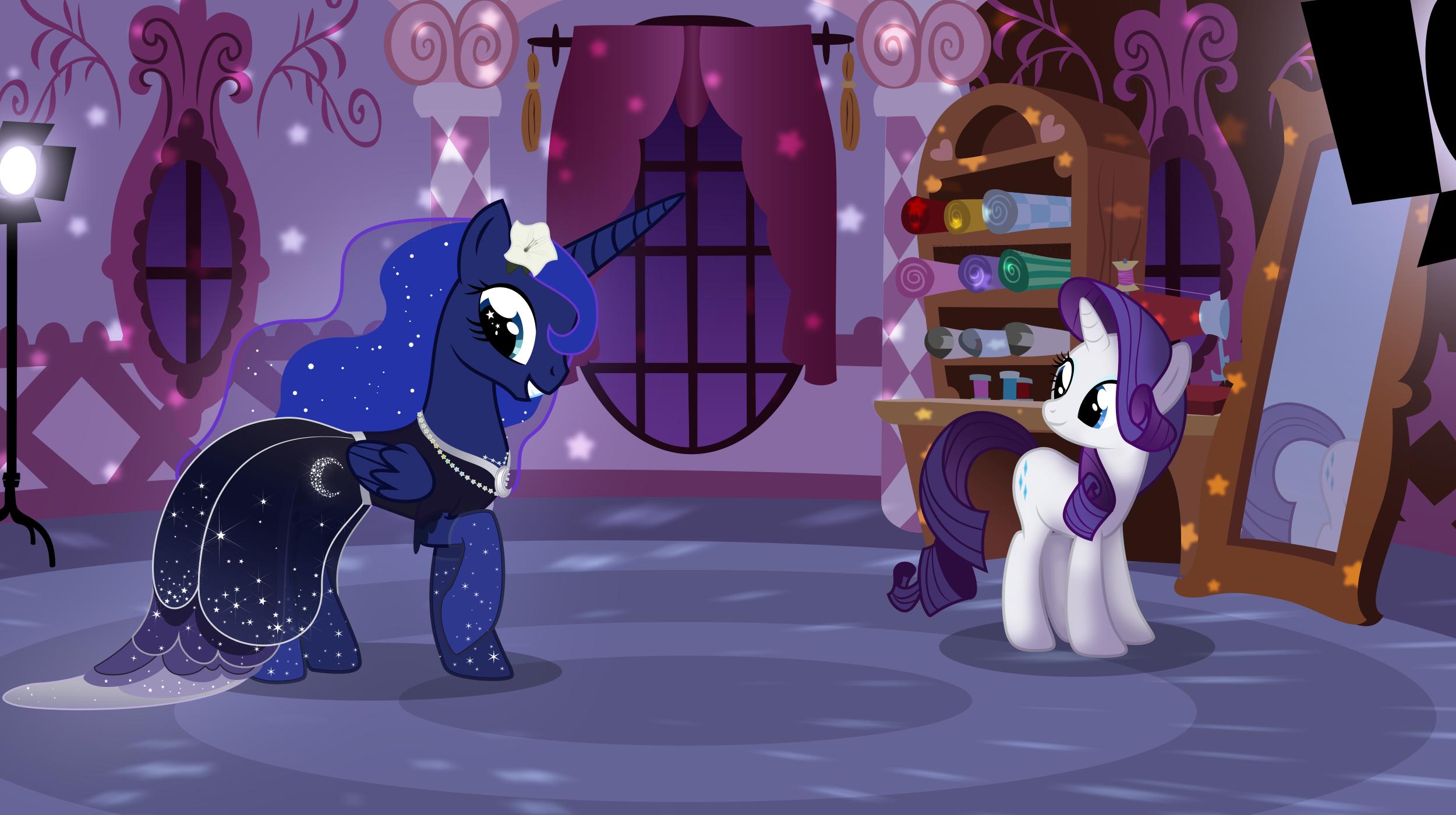 Princess Luna's New Dress
