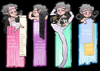 AA: SofiaYpo Bookmarks by datPiranha