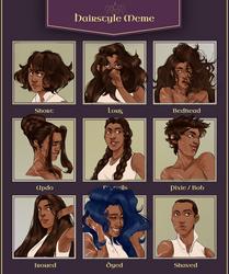 AA: Hairmeme Shirin by datPiranha
