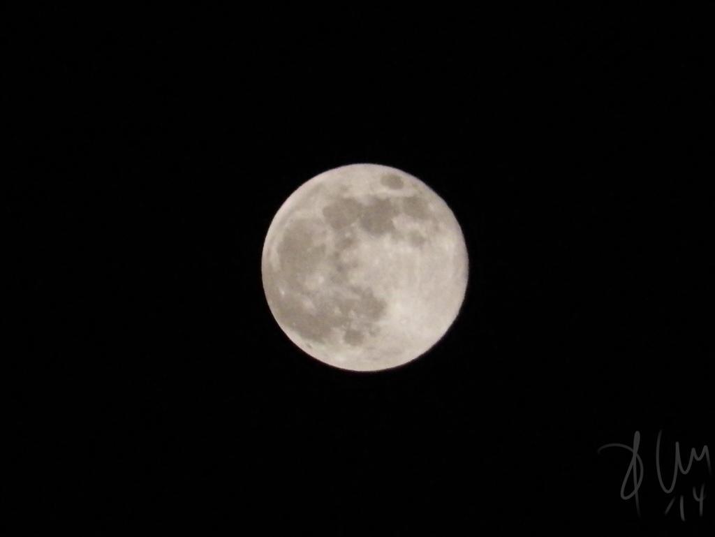 Luna del 10 de agosto de 2014 by dnomyar27poke