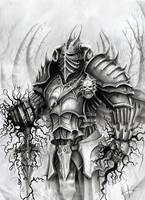 Death knight Krael by HrvojeSilic
