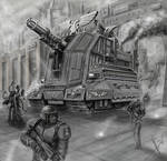 Imperial guard heavy artillery