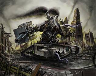 Mechanizaton demon by HrvojeSilic