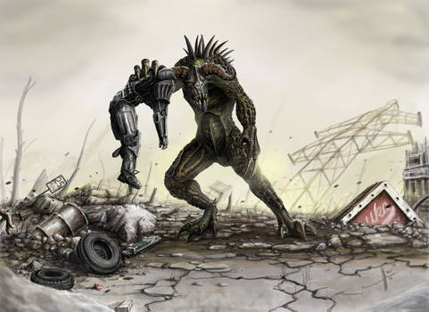 Bad day in Wasteland