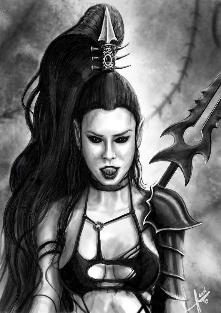 Lilith Hasperax by HrvojeSilic