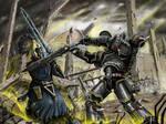 Deathwatch, the ruins duel
