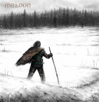 Meldon winter scene