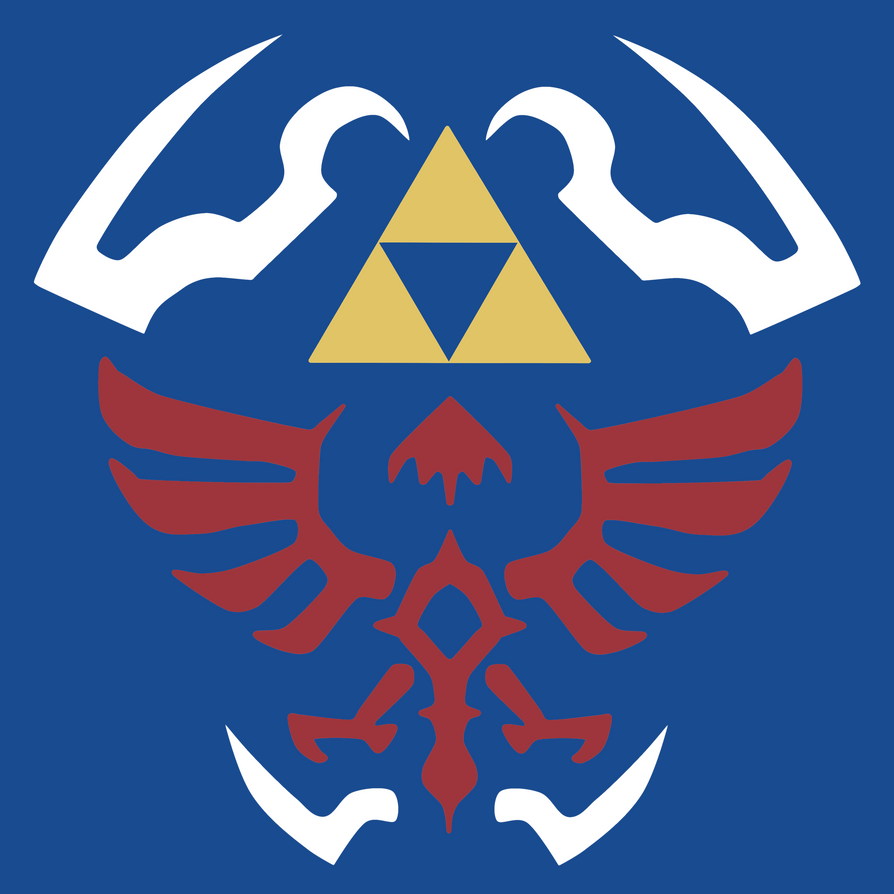 Shield Design Png tp Hylian Shield Design by