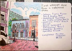 Urban Sketching First Attempt