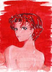 anime red by dlazaru