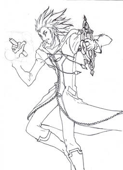 Axel lineart again unfinished
