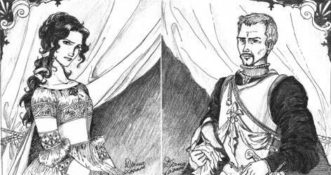 some original characters by dlazaru