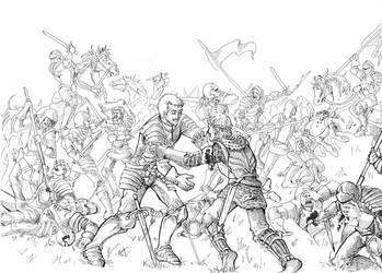 battlefield by dlazaru