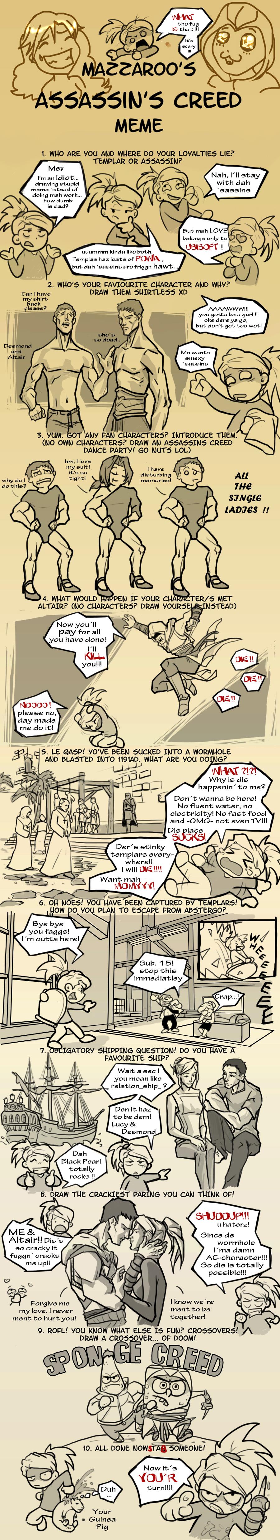Assassins Creed Meme by dlazaru
