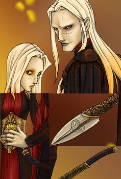 Nuada and Nuala Detail