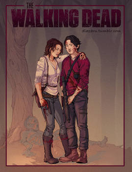 The Walking Dead, Glenn and Maggie