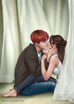 BTS Jhope kiss