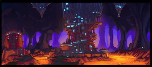 Castle Pillar by Solblight