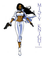Misty Knight by Solblight