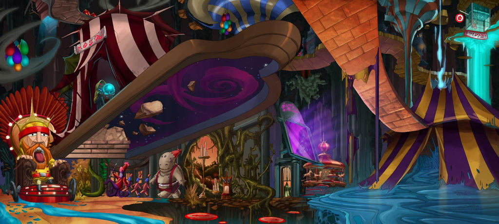 the quest for mr.fez The_carnival_of_confusion_by_solblight-d4zeziv
