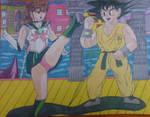 Goku Vs Sailor Jupiter