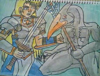 Jeanne vs Slogra KOF vs Castlevania 8 by carlos1976