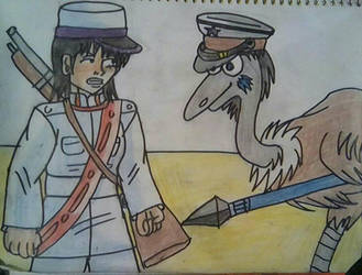 Dan vs General Emu by carlos1976