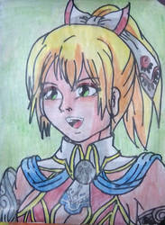 Soul Calibur Cassandra