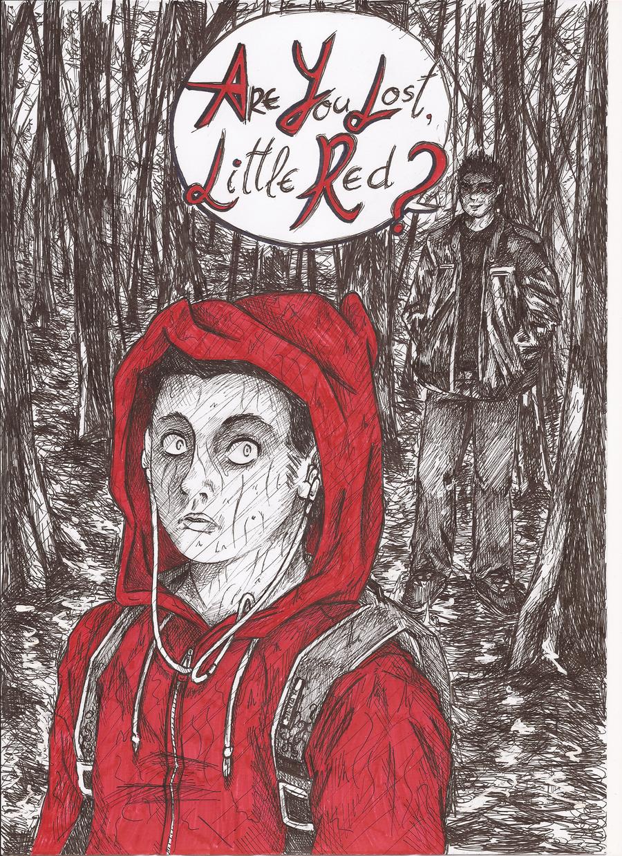 Red Stiles Riding Hood and Big Bad DerekWolf by RoadTama