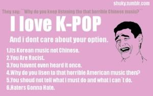 I love KPOP! by rockyhorrorpicturesh