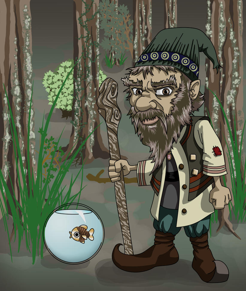 Gnick the Gnome by KiubezUndermann