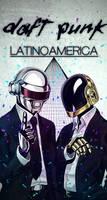 Daft Punk Latinoamerica by inkedr