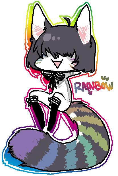 RAINBOWU by alpacasovereign