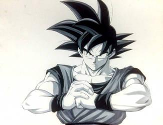 Goku by AdrianEH