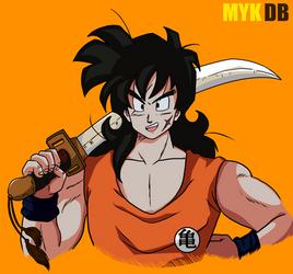 Yamcha swordman Dragon Ball Z Saiyan Saga