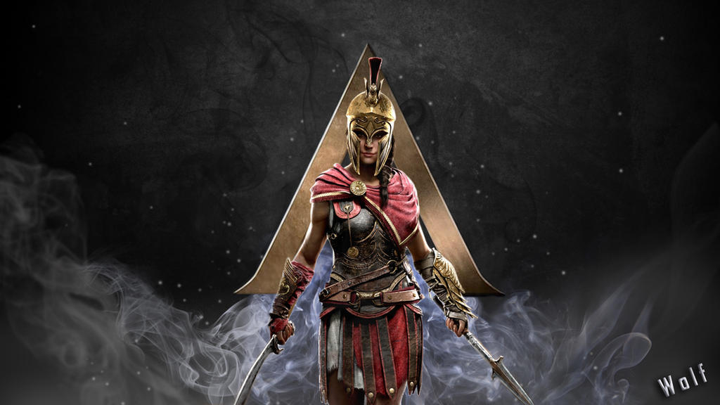 Wallpaper Assassin Creed Odyssey By Wolf311 On Deviantart