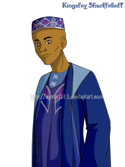 HP-Kingsley Shacklebolt by Avatar013 on DeviantArt