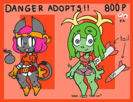 Danger Adopts!! (2/2) (Open!)