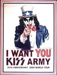 I Want YOU...KISS Army 2 of 3
