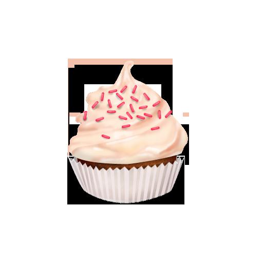 Strawberry Cupcake Icon by yamshing