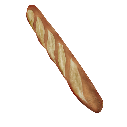 French Bread Icon By Yamshing