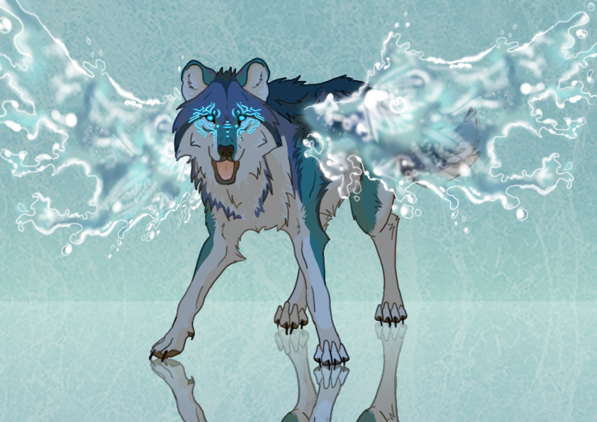 Water wolf anime