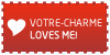 votre-charme loves you by urbanoantunes
