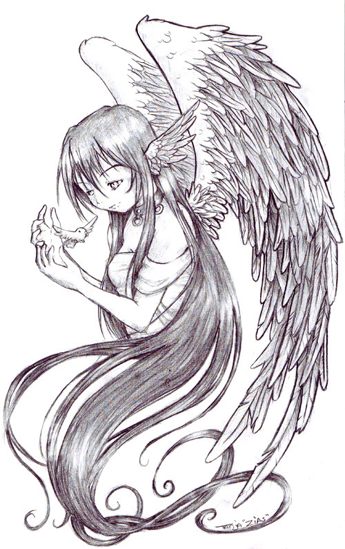 Angel By Zias On DeviantArt