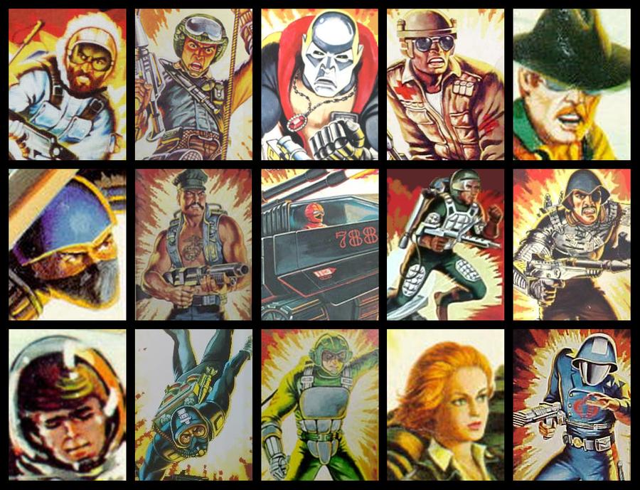 GI Joe 1983 by Seblebon