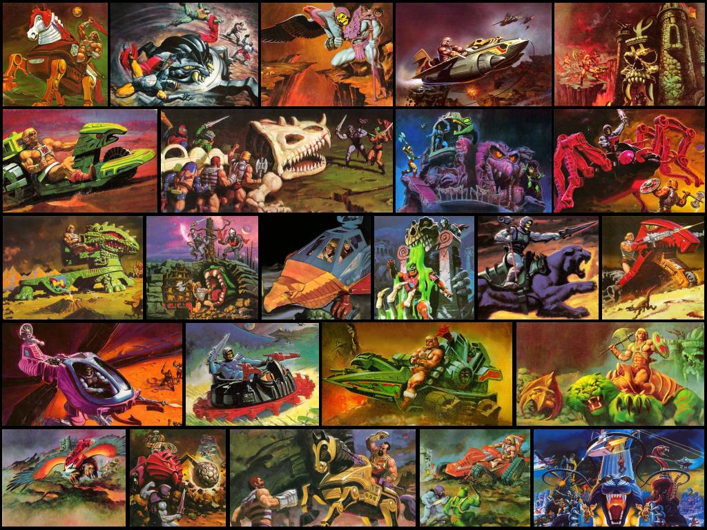 Wallpaper Box Art He Man 2 By Seblebon